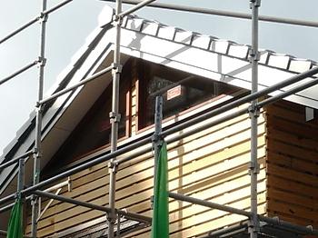 屋根の妻側詳細