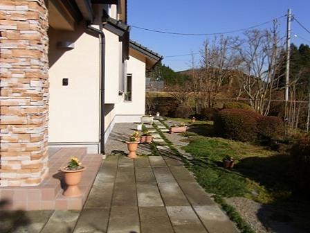 Oさん宅の庭