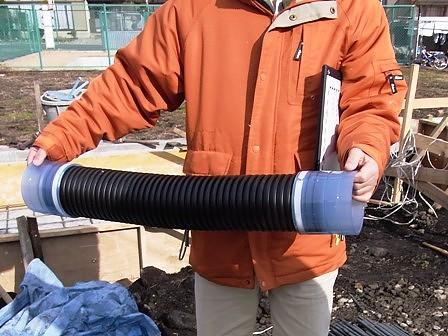 長期優良住宅対応・排水ジャバラ管