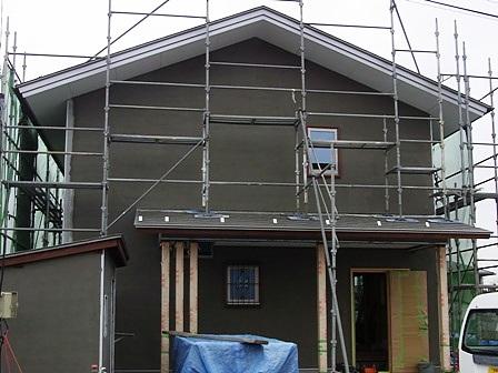 外壁軽量モルタル塗り