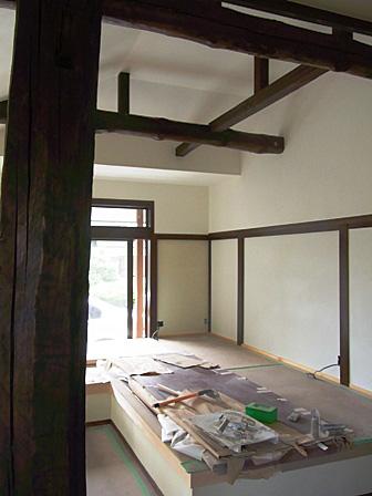 断熱改修の家