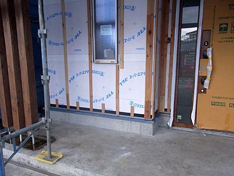 外壁通気工法下地