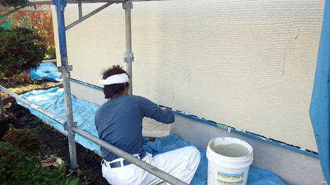 外壁左官塗り