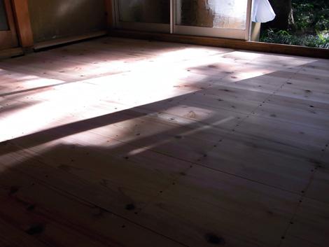 和室の床アフター