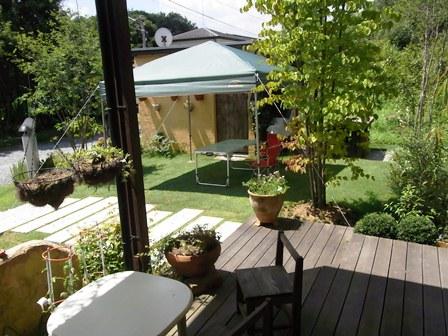 日光の家・テント