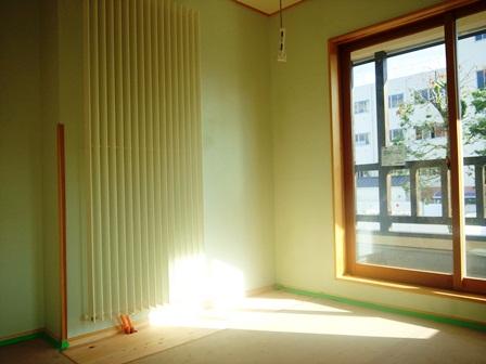 栃木の家 PSセントラル暖房器具とと外構工事と照明器具設置工事と