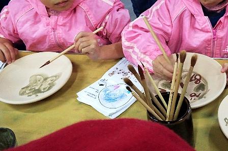 鹿沼市いずみ幼稚園の益子遠足