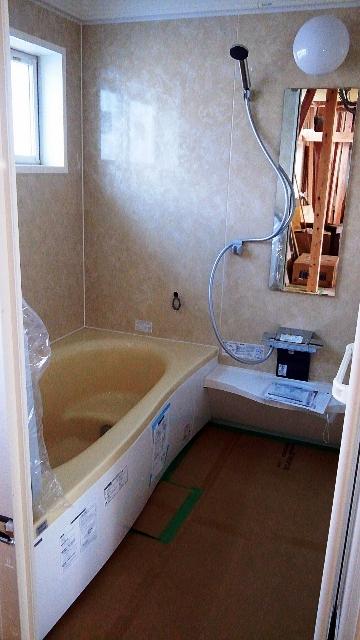 黄色い浴槽