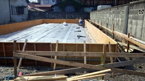 木造住宅 基礎工事
