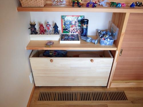 DIYのおもちゃ箱