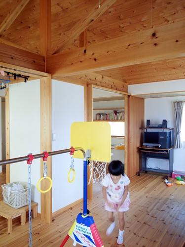 開放的な部屋