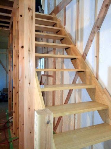 無垢 階段