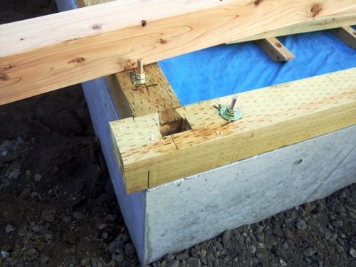 小屋 建て方
